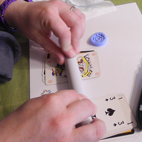 Silikonformen mit Art Clay Silber | www.createur.lu