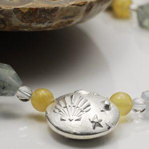 (c) Bijoux QréationS - Element aus Art Clay Silber